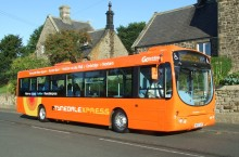 Diversion for Tynedale Xpress X84 from 3 April