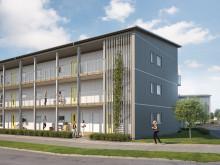 BoKlok startar försäljning av 33 lägenheter i Skegrie