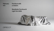 Stockholm Furniture & Light Fair, Feb 4-8 2020