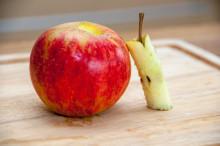 40 ton frukt har räddats av Salico och juiceföretaget Rescued