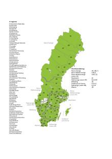 """Karta - 4 av 10 svenskar: """"Andra trafikanter kör för fort vid vägarbeten"""""""