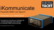 iKommunicate - Nouvelle génération d'interfaçage marine avec Signal K et NMEA