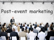 Event for Communications Directors: Best practise in post-event marketing