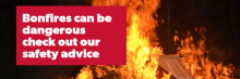 Scottish Fire and Rescue Service publish firework and bonfire safety advice