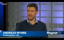 Kraftekspert Andreas Myhre gjest hos HegnarTV