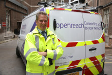Edinburgh leads the UK in major new drive for ultrafast broadband as Openreach launches 'Fibre First' programme