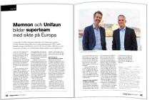 Stor intervju med Memnon Networks och Unifaun i senaste numret av Supply Chain Effect