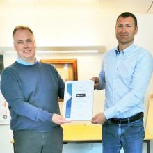 Droneselskap tidlig ute med ISO-sertifikat