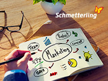 Schmetterling Marketing