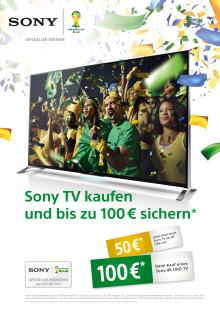 Sony Deutschland startet gemeinsam mit dem Handel eine attraktive BRAVIA Kampagne zur FIFA Weltmeisterschaft 2014™