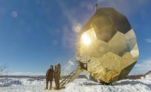 Riksbyggens Solar Egg på väg till svenskbygd i USA