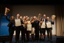 Hållbarhet och framtidstro genomsyrade årets Quality Innovation Award-gala