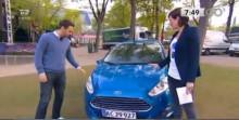 Ford Fiesta i bil-battle i Go' Morgen Danmark