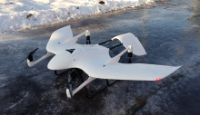 Tar i bruk droner til lokalisering av strømbrudd