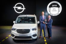 Nya Opel Combo framröstad till International Van of the Year 2019