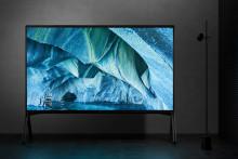 Sony udvider MASTER-serien med 8K HDR LED-tv'er i super store størrelser
