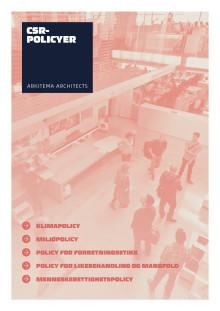 Arkitema Architects -  CSR-policyer 2018
