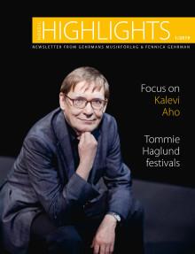 Nordic Highlights No. 1 2019 from Gehrmans Musikförlag &  Fennica Gehrman