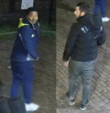 Police appeal to identify men following fight in Westminster