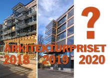 Dags för nominering till Arkitekturpriset 2020
