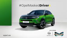 Opel är officiell bilpartner till TV4:s sångtävling Masked Singer Sverige