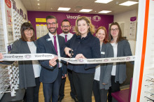 Portsmouth MP is guest of honour at opening of new optician