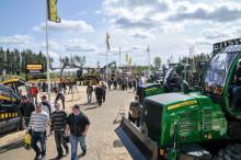 Alla stora maskintillverkarna med på årets Skogsnolia