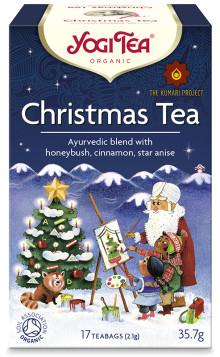 Vintersäsongens värmande nyhet är här – Yogi Christmas Tea med fina julsmaker av ekologisk apelsinolja, stjärnanis och nejlika!