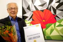 Lars Eriksson blev Årets Upplands-Brokonstnär
