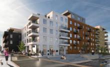 Säljstart för Riksbyggens Brf Oceankajen – 46 lägenheter med havet som granne