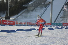 En liten hilsen fra IBU BMW World Cup Holmenkollen