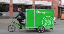 The last mile av Brings lätta hemleveranser blir helt gröna