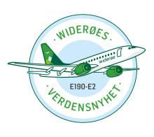 Verdensnyhet!  Widerøe offentliggjør første ruter med verdens første E190-E2 jetfly