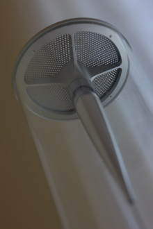 Sony revolutionises speaker technology with Sountina: A slim, elegant, glass and leather column delivering 360º sound