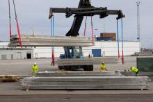 CMP hub for heavy handling