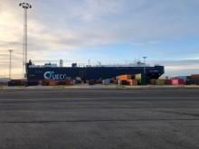 Besøg af det grønne skib M/V AUTO ENERGY i København