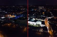 Licht aus für den Klimaschutz:  Santander beteiligt sich an Earth Hour 2019