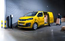 Nya Opel Vivaro-e – Opels första helt elektriska transportbil