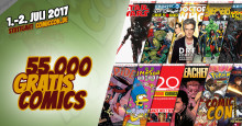 Verlag Panini verteilt 55.000 Gratis-Comics auf der Comic Con Germany 2017 in Stuttgart