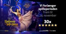 Disneys KLOKKEREN FRA NOTRE DAME spiller yderligere en uge på Fredericia Teater efter flotte anmeldelser