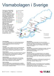 Visma i Sverige - snabbfakta och karta