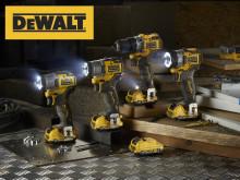 Mindre & starkare! DEWALT släpper ny serie kompakta batteriverktyg