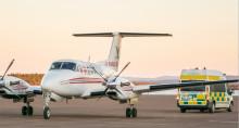 Hummingbird Aviation Services vinner ytterligare upphandling av ambulansflyg