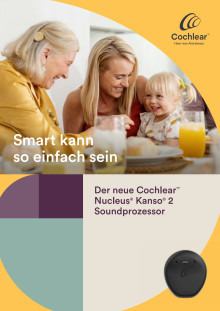 Cochlear™ Kanso™ 2 Soundprozessor (FvO-Cochlea-Implantatsystem)