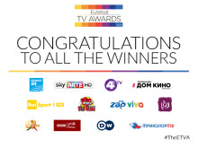 ​Winners announced of the prestigious Eutelsat TV awards!