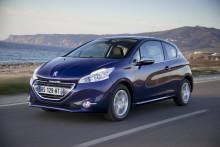 Peugeot har byggt 300 000 exemplar av 208