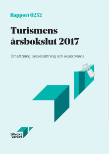 Turismens årsbokslut 2017