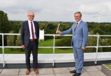 Digital ganz weit vorn: Stadt Paderborn und Westfalen Weser bauen ein LoRaWAN-Netz für Paderborn auf