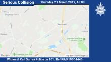 Update: Man dies following collision in Newchapel