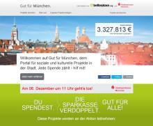Nikolaus verdoppelt Spenden mit 10.000 Euro